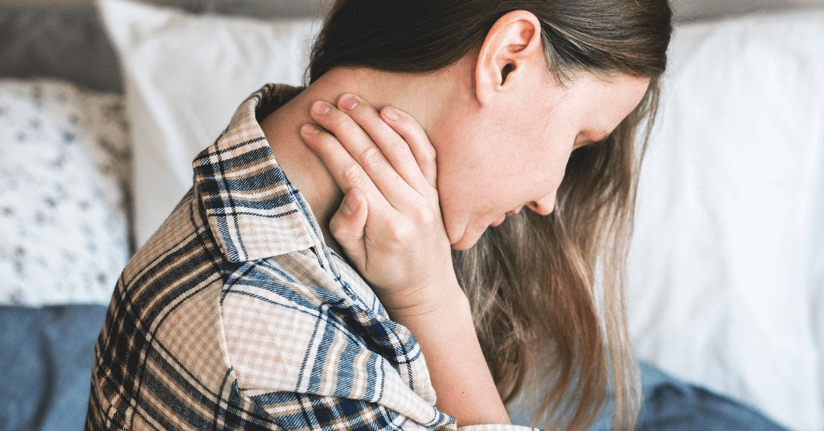 Neck Pain and When It's Time to Get Help